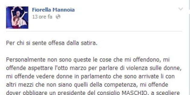Fiorella Mannoia attacca Laura Boldrini sulla satira su Maria Elena Boschi: