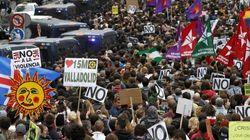 Madrid: indignados ancora in piazza  Scontri con la polizia