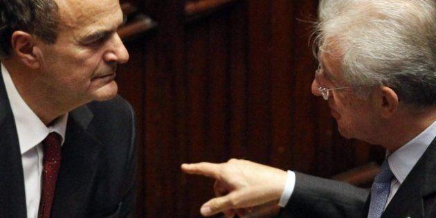 Quirinale, dall'incontro la strategia di Mario Monti: distogliere il Pd e Pier Luigi Bersani da Romano...