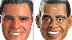 Halloween: boom di maschere presidenziali  Obama batte Romney nella sfida dei gadget (FOTO,