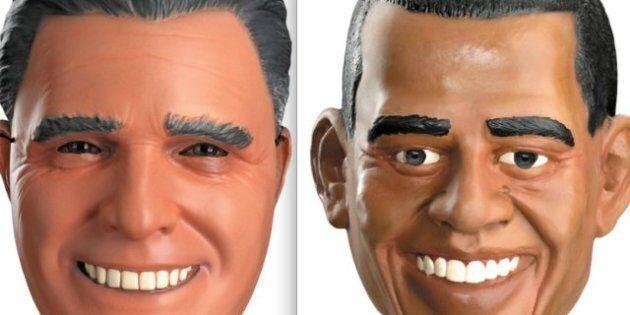Halloween ed elezioni americane: Obama batte Romney nella sfida dei costumi (FOTO,