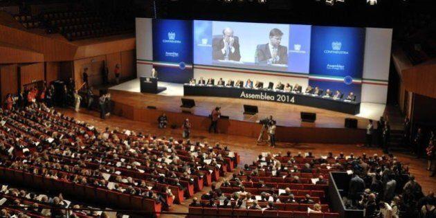 Assemblea Confindustria 2014; Giorgio Squinzi non punge, dando la sensazione di non poter dire nulla...