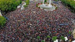 Indignados ancora in piazza a Madrid e
