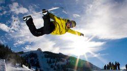 Imitando i campioni di snowbooard