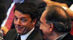 Nella due giorni di Trento Marchionne si scopre infatuato di Renzi e del