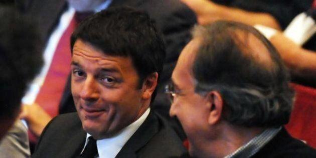 Sergio Marchionne a Trento si scopre infatuato di Renzi: