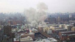 Crollano due edifici a