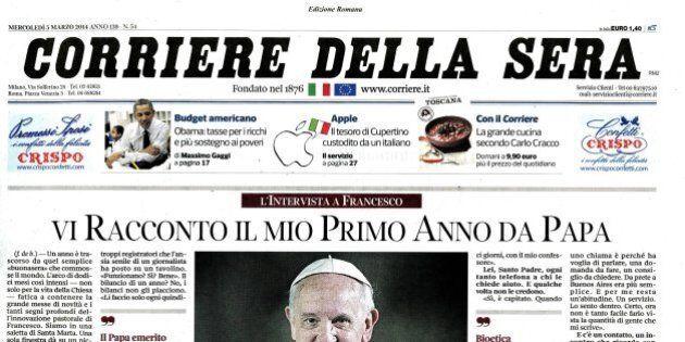 Rcs punta al digitale e il CorSera diventa tabloid. Pietro Scott Jovane: