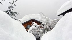 Nevicata storica a Cortina d'Ampezzo