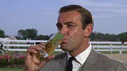 James Bond? Un alcolizzato