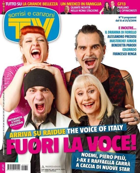 The Voice 2, Piero Pelù e J-Ax contro Tv Sorrisi e Canzoni: