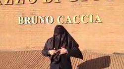 Con il burqa in Tribunale