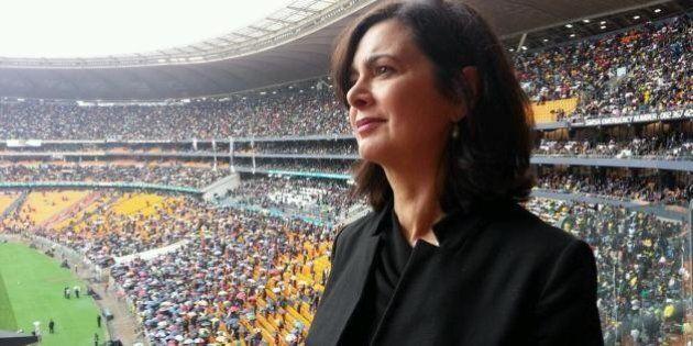 Laura Boldrini ai funerali di Mandela, trasferta con il fidanzato sul volo di Stato. La difesa: