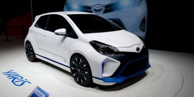 Toyota a Francoforte punta su ibrido con Yaris