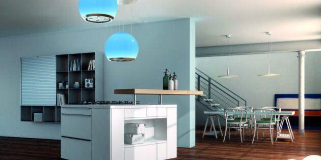 Salone del Mobile: le cappe da cucina Faber silenziose, colorate, funzionali, eleganti