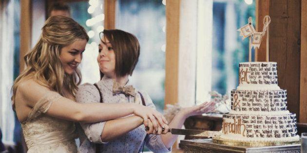 Matrimonio gay. Meredith sposa Kat e posta gli scatti su Tumblr. Il web si emoziona