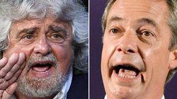 Farage corteggia Grillo: