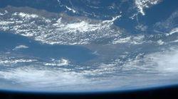 L'Italia vista dall'alto è ricoperta di nubi: l'ultimo scatto di Luca Parmitano dallo spazio