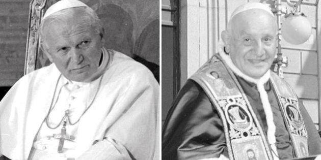 Roncalli e Wojtyla effigie del pontificato a doppia corsia di Bergoglio: la rivoluzione tranquilla e...