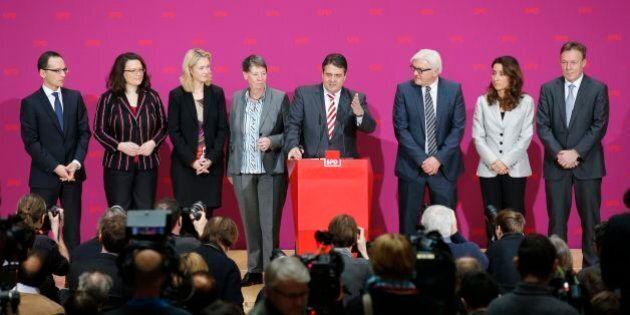 Germania. La Spd dice sì alla grande coalizione con la Cdu di Angela Merkel. Tutte le donne del terzo...