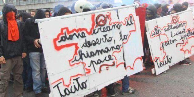 5 ottobre, scontri fra studenti e polizia. Blocchi a Roma, Milano, scontri a Pisa e Torino