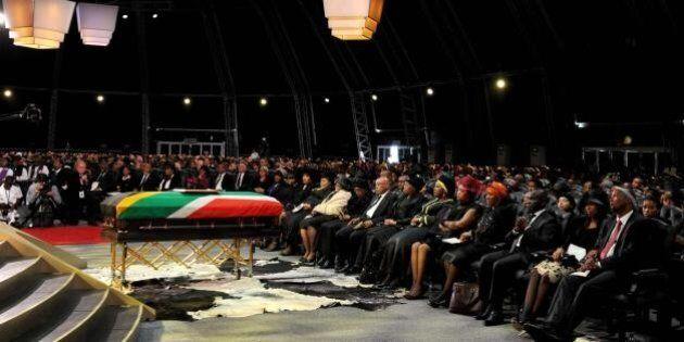 Funerali di Nelson Mandela, l'addio del popolo Sudafricano al leader anti