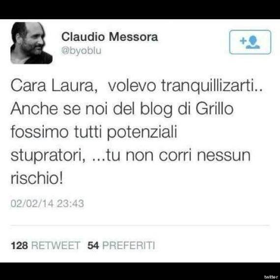 L'irresponsabile Claudio Messora a 6000 euro al