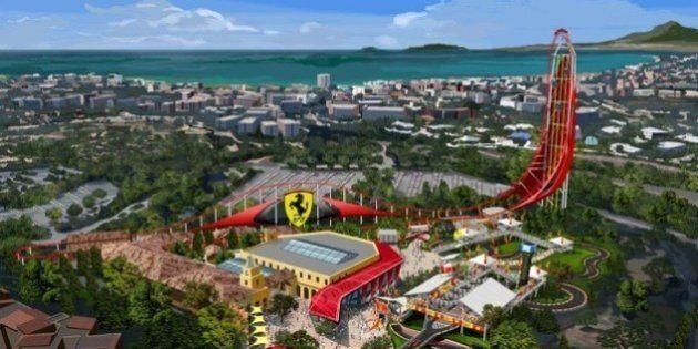 Ferrari: in Spagna nasce il parco tematico del Cavallino