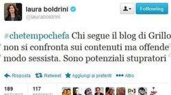 Grillo rilancia il Tweet della Boldrini su Facebook. Ma staff del presidente: