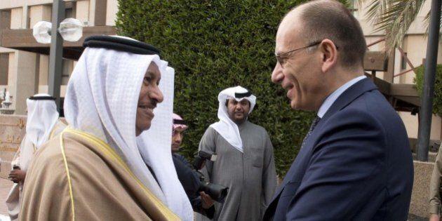 Enrico Letta in visita in Kuwait; il fondo sovrano Kia investirà 500 milioni di euro in