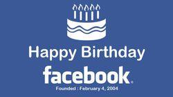 Buon compleanno Facebook! E Twitter non sta a guardare