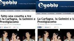 Messora colpisce ancora: post con fantasie erotiche su Gelmini, Carfagna e