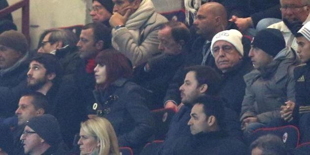 Barbara Berlusconi cambia colore di capelli. Da bionda a rossa a San Siro con il nuovo look