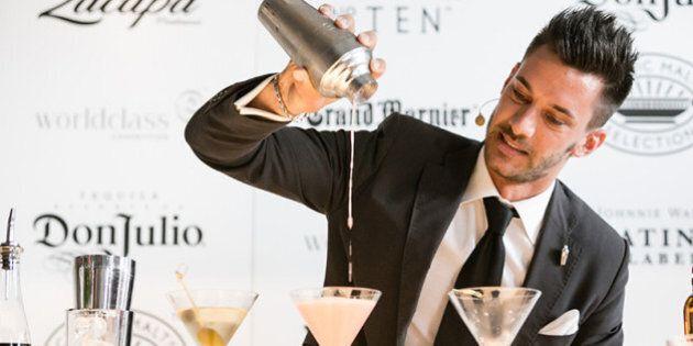 Claudio Perinelli, miglior bartender d'Italia. Vince il Diageo Reserve World Class 2014