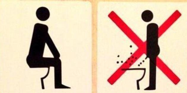 Olimpiadi Sochi, istruzioni per usare il water. Schiena dritta e divieto di pesca