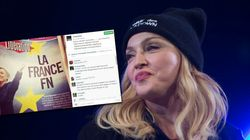 Madonna contro la Le Pen: