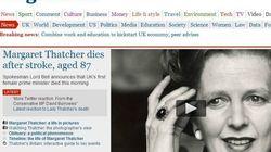 Ci lascia Iron Lady... La notizia sui giornali