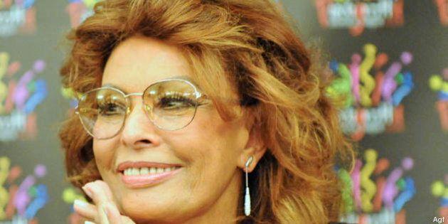 Sophia Loren torna sul set, a 78 anni