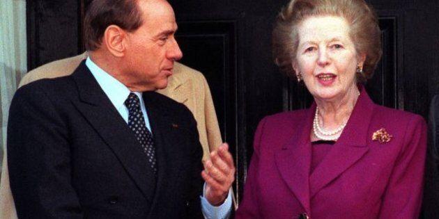 Silvio Berlusconi, Margaret Thatcher un modello per me.