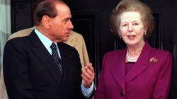 Berlusconi: la Thatcher mi difese dall'aggressione dei