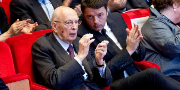 Renzi da Napolitano: