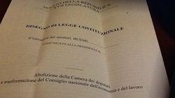 Renzi vuole abolire il Senato? Il Senato vuole abolire la
