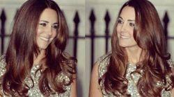 Kate Middleton è in perfetta forma. Con l'abito a sirena di Jenny Packham alla cena di gala