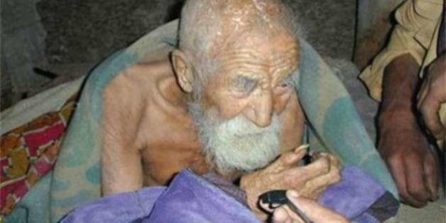 Mahashta Murasi, l'uomo più vecchio del mondo: