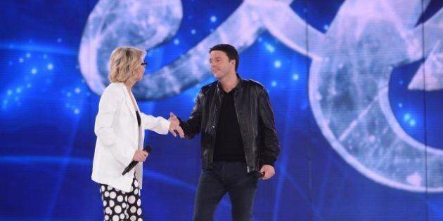 Matteo Renzi torna ad Amici. Il premier di nuovo ospite di Maria De Filippi
