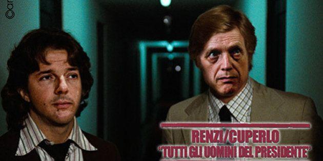 Matteo Renzi, Silvio Berlusconi, Gianni Cuperlo e i Forconi: la settimana di Emiliano Carli