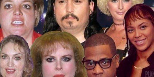 Angelina Jolie e Brad Pitt, Jhonny Depp e Britney Spears...come apparirebbero senza un team di bellezza...