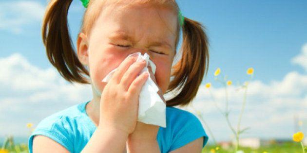 Allergie primaverili: 10 modi per proteggere i bambini