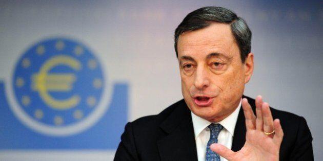 Mario Draghi, Bce: