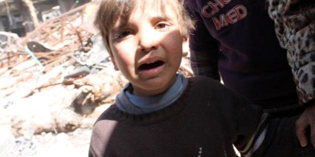 Siria, tre anni di guerra. Un milione e duecentomila bambini profughi, 3 milioni non vanno a scuola
